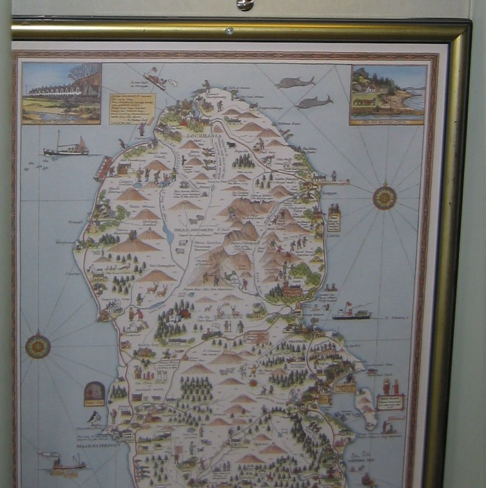 Map of Arran