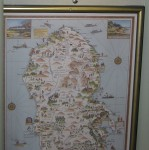 Map of Arran