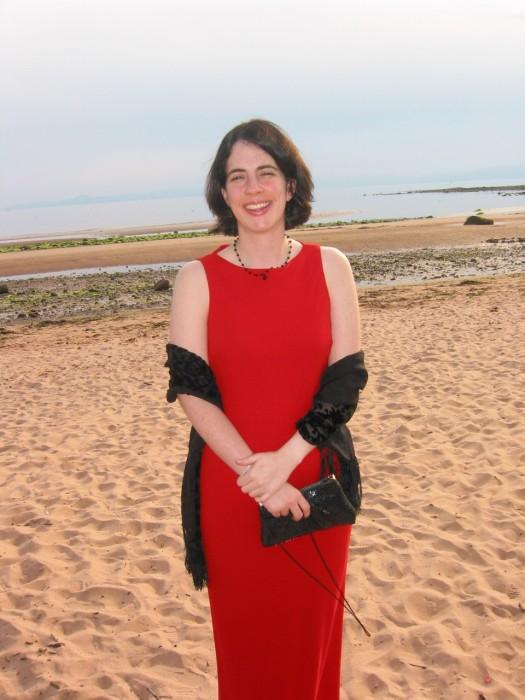 Samantha on the Beach